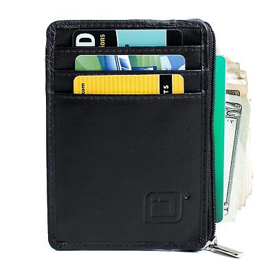 Direct from ID Stronghold RFID Wallet Mini Front Pocket Wallet