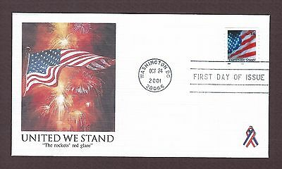 mjstampshobby 2001 US United We Stand  FDC MNH (Lot4221)