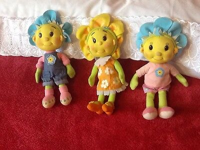 Three Fifi The Flower Tots