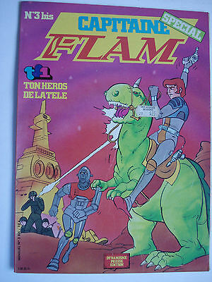 CAPITAIN FLAM FRENCH COMIC TV SERIES TF1  1980's  NUMERO SPECIAL No. 3