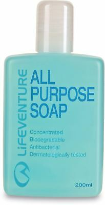 Lifeventure All Purpose Concentrated Travel Soap - 200ml / Leeda