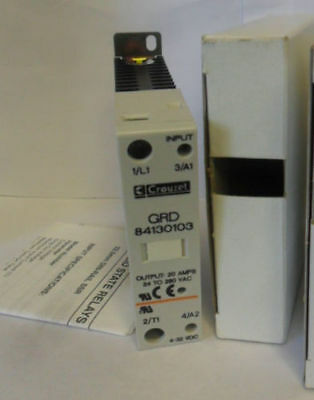 New Crouzet GRD 84130103 Solid State Relay NIB