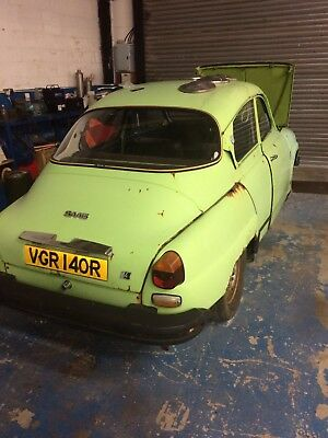 1977 Saab 96 v4 project  ONE OWNER