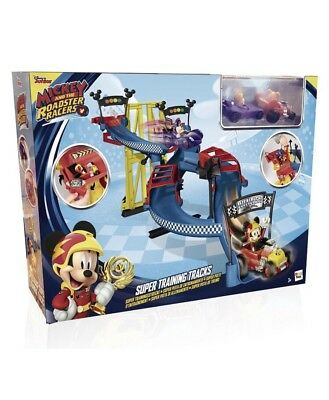 Disney Mickey Mouse Roadster Races Speed Race Super Car Track Cars Store Gift