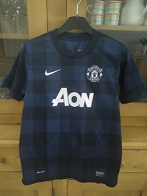 Maillot foot Adidas Manchester United Third saison 2013/2014 taille 12-13 ans