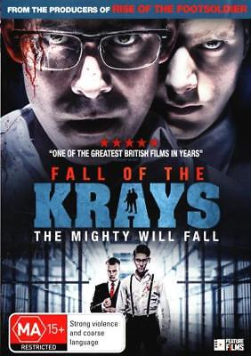 Fall of the Krays  - DVD - NEW Region 4