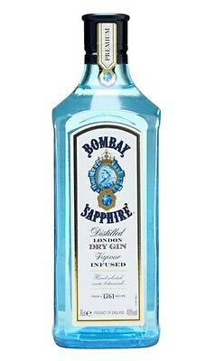 empty bombay sapphire gin bottle upcycling upcycled breweriana