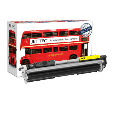 Red Bus - HP 130A Yellow Recycled Toner Cartridge (CF352A Laser Toner)
