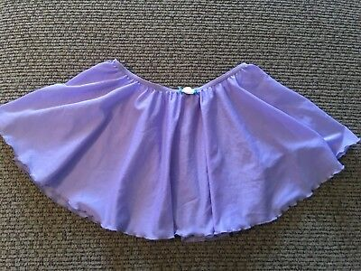 Lavender/Purple Pull-On Skirt Child Small Tap Ballet Gymnastic