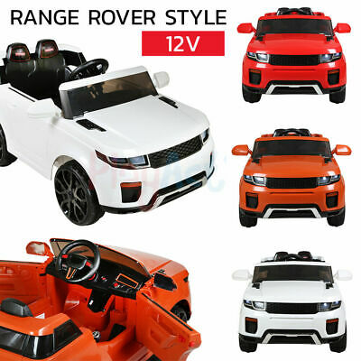 Evoque Range / Land Rover Style Jeep 12V Kids Ride On Remote Control Car / Cars