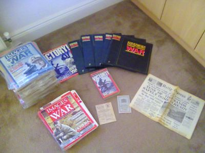 Images of War COMPLETE 78 edition collector's magazine collection