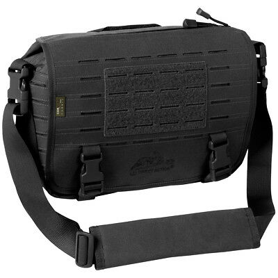 Direct Action Small Tactical Messenger Shoulder Grab Bag Carry Pack Molle Black