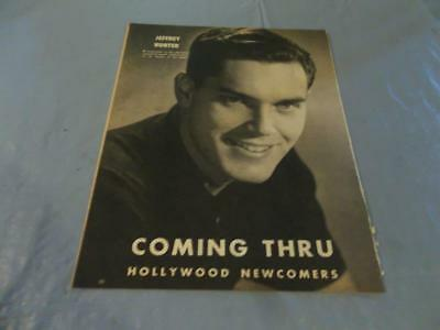 Jeffrey Hunter  pinup  clipping  #131