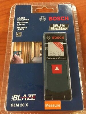 BOSCH GLM 20 X 65ft LASER MEASURE