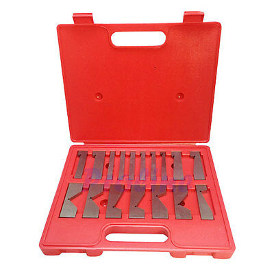 17 PC Precision Angle Block 1/4 to 45 Degree Set  Machinist Toolmaker .0003 ACC