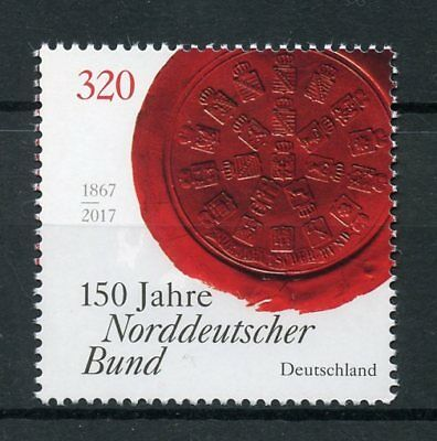 Germany 2017 MNH North German Confederation Norddeutscher Bund 1v Set Stamps