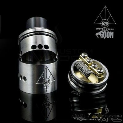 528 Custom Vapes - Goon 22mm Originale - Silver