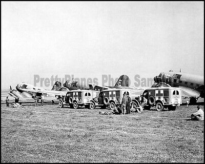 USAAF Douglas C-47 Skytrain 9th TCC Germany 1945 8x10 Aircraft Photos
