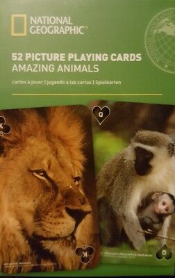 National geographic playing cards Amazing Animals