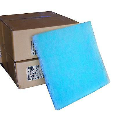 Paint Spray Booth Exhaust Filter 20x20x2cm 100/Case