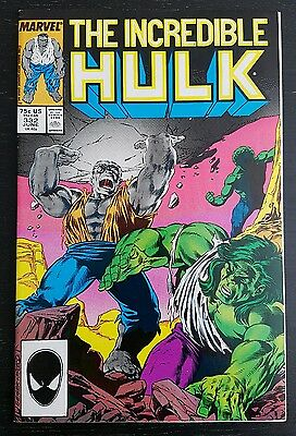 Incredible Hulk #332 (1987 Marvel) *todd Mcfarlane* Vf+/nm-