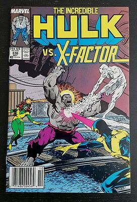 Incredible Hulk #336 (1987 Marvel) *x-Factor App. & Skids Cameo* Nm