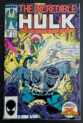 Incredible Hulk #337 (1987 Marvel) *x-Factor Appearance* Nm