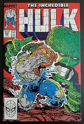 Incredible Hulk #342 (1988 Marvel) *nick Fury Cameo* Nm-
