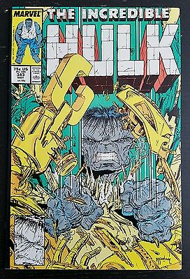 Incredible Hulk #343 (1988 Marvel) *todd Mcfarlane* Nm-