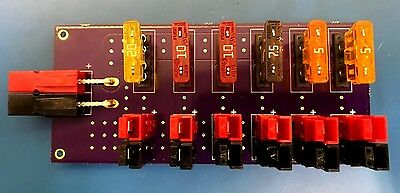 DIY Anderson PowerPole 6 Port + 1 Input 45 Amp RigRunner Distribution Panel