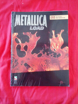 METALLICA LOAD DRUM EDITION BOOK ~ Transcriptions of ALL SONGS Drum Lesson LARS