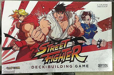 STREET FIGHTER Deck-Building Game NEW SEALED Canada Seller CRYPTOZOIC