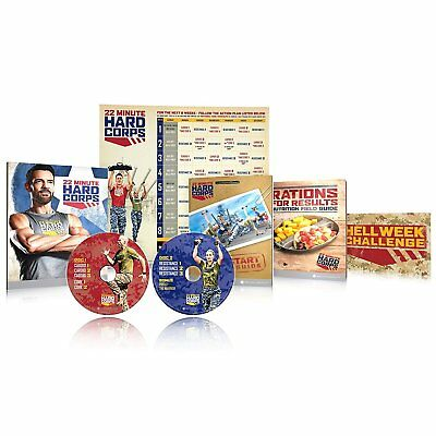 Tony Horton's 22 Minute Hard Corps Workout Programme - Base Kit