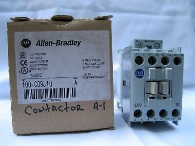 New Allen-Bradley 100-C09J10, 100-C09*10 Series A 24V60HZ Contactor Switzerland