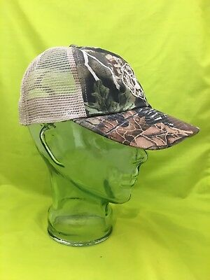 NEW Embroidered Maltese Cross Fire Deer Camo Hunting Hat Cap