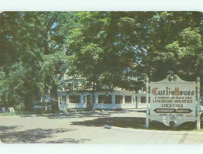 Pre-1980 CURTIS HOUSE HOTEL Woodbury Connecticut CT HQ2408