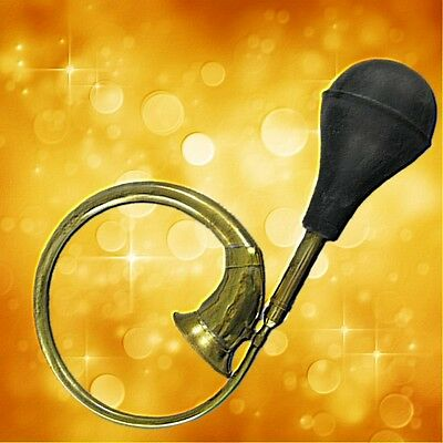 Taxihorn Hupe Messing Instrument Oldtimer Autoteile Fussball Vintage Geschenk
