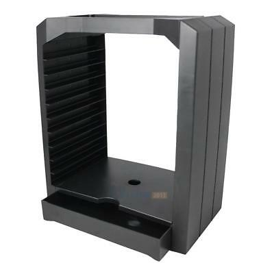 Game Disk Tower CD Rack Storage Box For Sony Playstation4 PS4 Microsoft Xbo #3YE