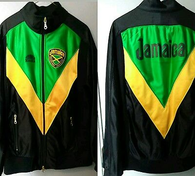 roots jamaica bobsled federation jacket sz medium cool runnings bobsleigh