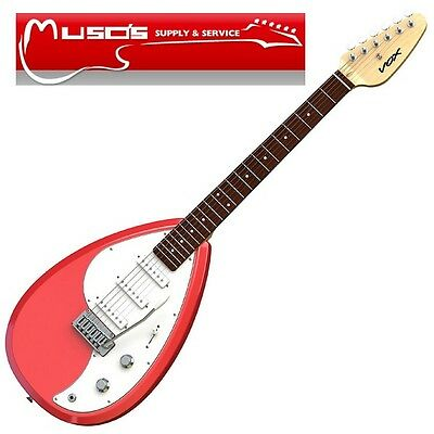 Vox Electric Guitar Teardrop, Salmon Red $599 +postage (free for Greater Sydney)