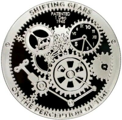 1 oz T.I.M.E. Series Shifting Gears Silver PROOFLIKE Round.COIN #2 SERIE...