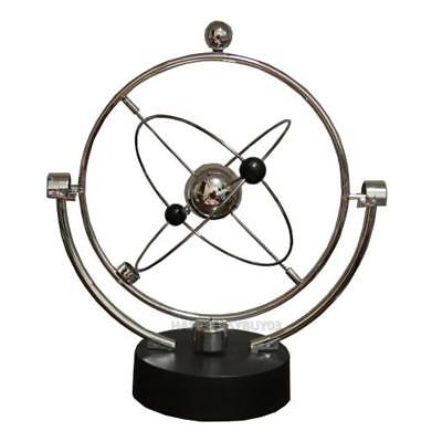 Kinetic Orbital Revolving Gadget Perpetual Motion Desk Art Toy Office Decor r#H3