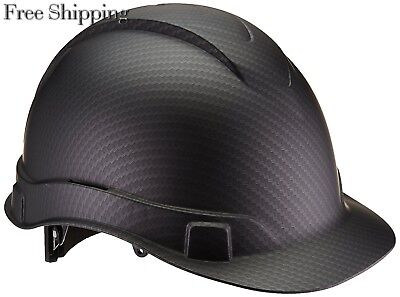 Pyramex Ridgeline Hard Hat Graphite Pattern Black Ratchet Suspension, HP44117