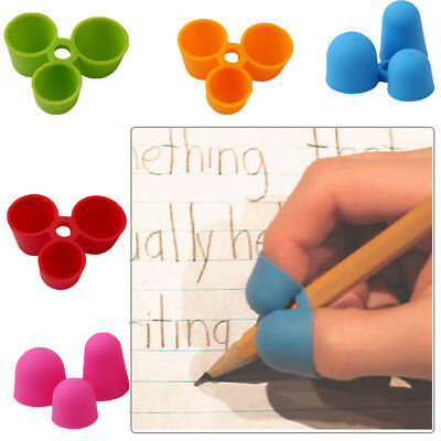 High Sales 2 x Claw Pencil Grip Kids Writing Correction Tool Fashionable Likable