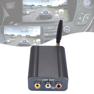 Car 12V 2.4GHz Wifi Miracast Screen Mirroring Box For IOS Android Display