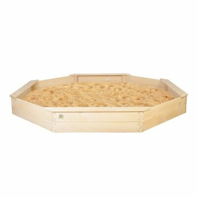 Lifespan Kids Large Sandpit - Sand Pit Cubby House Outdoor Play
