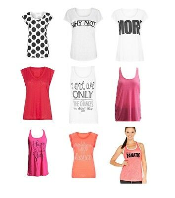 On Sale! Lorna Jane Womens Loose Fit Sports Tee Tank Singlet Athletic All Size