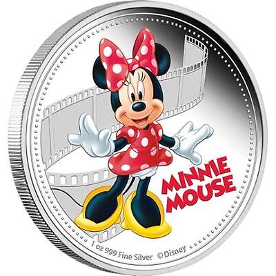 1 oz Mickey & Friends – Minnie Mouse Finished in 18k White Gold Coin/Medallion
