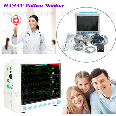 CE Vital Signs Monitor,ICU CCU Patient monitor,6 paramters-Patient care