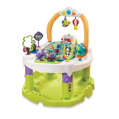 Evenflo ExerSaucer Triple Fun World Explorer Activity Learning Center